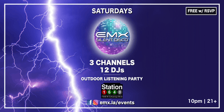 EMX Silent Disco @ Station1640 (Hollywood) tickets