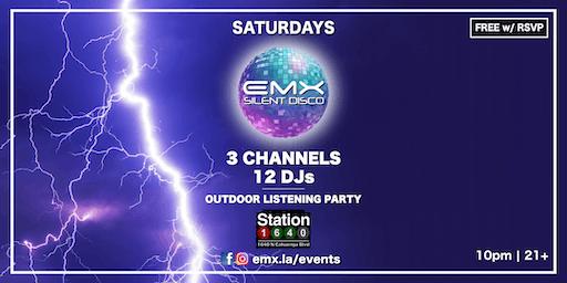 EMX Silent Disco @ Station1640 (Hollywood)