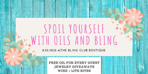 Spoil Yourself With Oils And BLING-FREE OIL + BLING GIVEAWAYS
