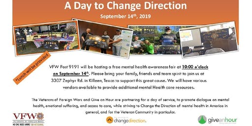 "VFW 9191 presents ""A Day to Change Direction"""