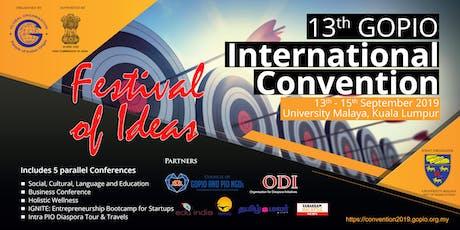 GOPIO International Convention 2019 tickets