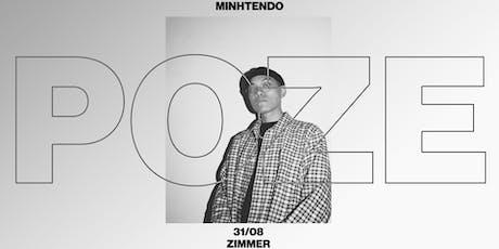 POZE mit Minhtendo (RIN) Tickets