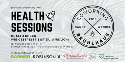 Brühlhaus Health Sessions | Health Check | Wie gestresst bist du wirklich?