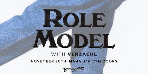 ROLE MODEL w/ Verzache & Cassidy King @ Mahall's (11/20)
