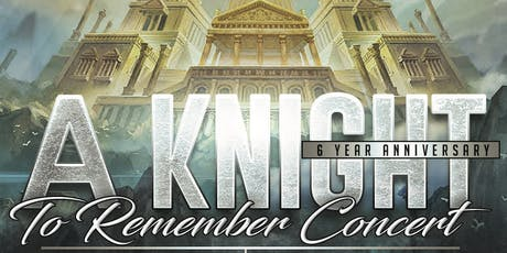 Frank Knight's A Knight To Remember Concert (6 Year Anniversary) tickets