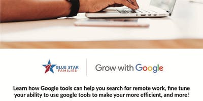 Military Spouse - Grow With Google Job Searching Digital Skills by BSF San Diego