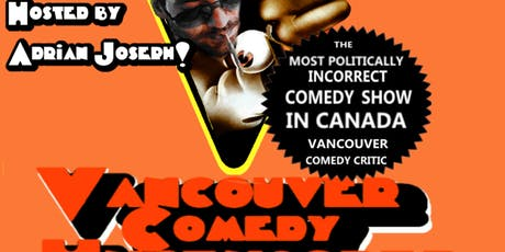 Vancouver Comedy Uncensored September 25th tickets