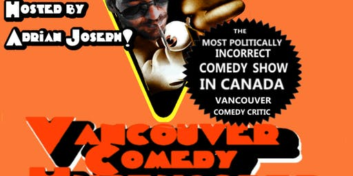Vancouver Comedy Uncensored September 25th