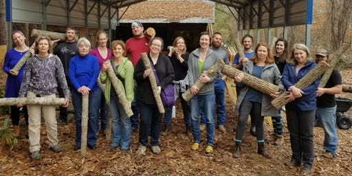 Mushroom Log Inoculation Workshop