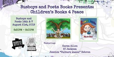 Busboys Books Presents: Children's Books 4 Peace tickets