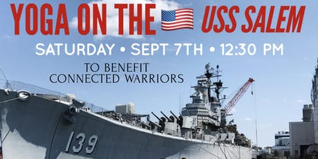Yoga on the USS Salem to Benefit Connected Warriors tickets