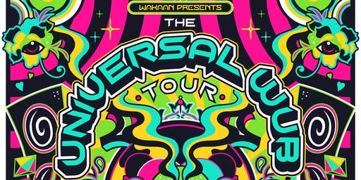 The Universal Wub Tour: LSDREAM & SHLUMP