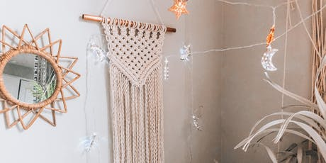Macrame Triangle Wall Hanging tickets
