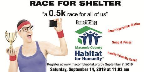Macomb Habitat 0.5 K Race for Shelter tickets