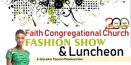 Faith Congregational Church Fashion Show & Luncheon