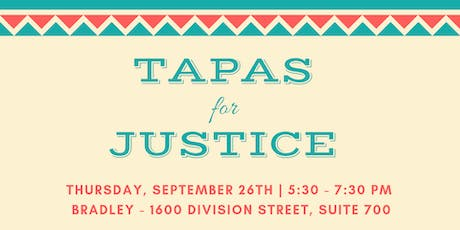 Tapas for Justice tickets