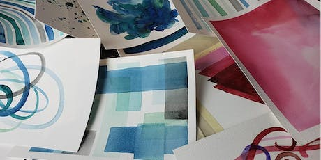 Abstract Watercolor Workshop tickets