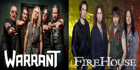 Warrant & Firehouse tickets
