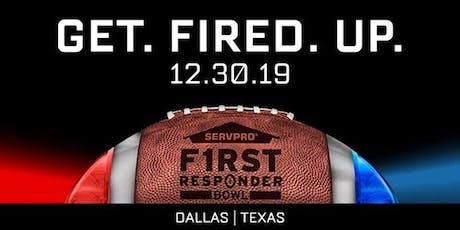 F1RST Responder Bowl Watch Event tickets