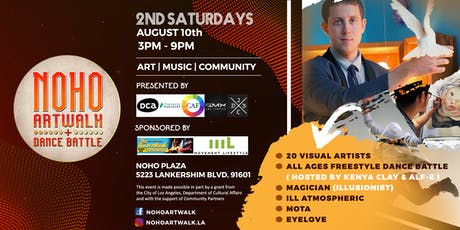 NoHo ArtWalk + Dance Battle (2nd Saturdays) tickets