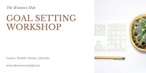 The Women's Hub, Goal Setting Workshop