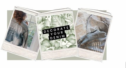 Design your Denim tickets