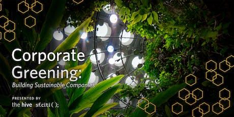 Corporate Greening: Building Sustainable Companies tickets