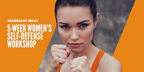 FMWF AREA WOMEN'S SELF-DEFENSE WORKSHOP tickets