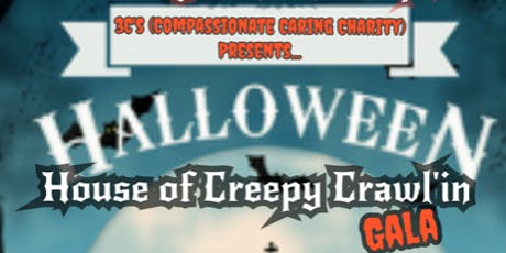 3Cs Halloween Gala - House of Creepy Crawl'in tickets