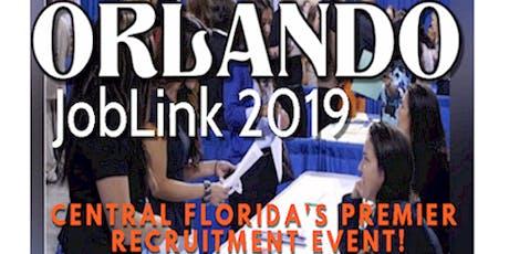 ORLANDO JOB FAIR - FLORIDA JOBLINK / ORLANDO JOBLINK DECEMBER 5 tickets