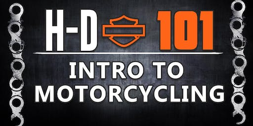 Uke's H-D 101 Intro to Motorcycling Event