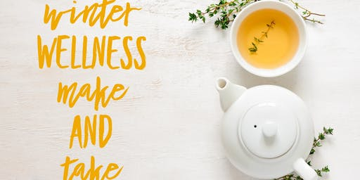 Staying Above The Wellness Line - Winter Wellness Make & Take