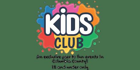 Kids Club Card tickets