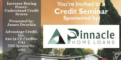 Credit Seminar - Pinnacle Home Loans tickets