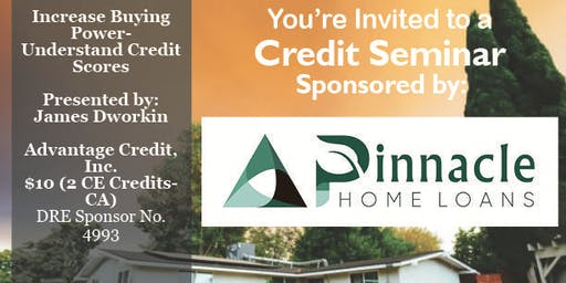 Credit Seminar - Pinnacle Home Loans