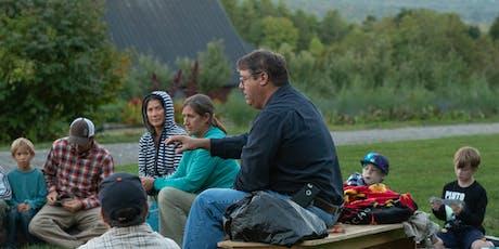 Fall Harvest Campfire With Abenaki Chief Don Stevens tickets