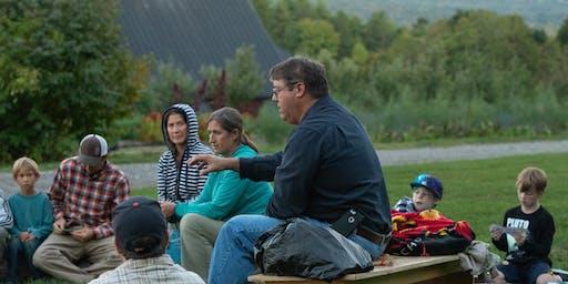 Fall Harvest Campfire With Abenaki Chief Don Stevens