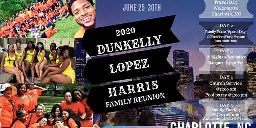 Dunkelly, Lopez and Harris Family Reunion