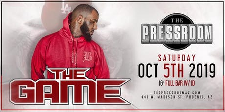 The Game @ The Pressroom tickets