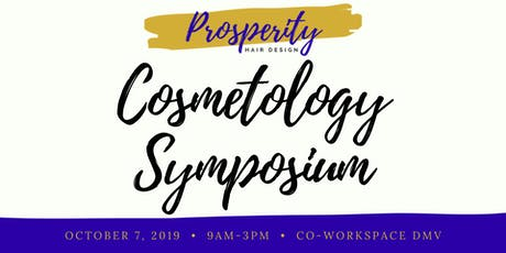 PhD Cosmetology Symposium tickets