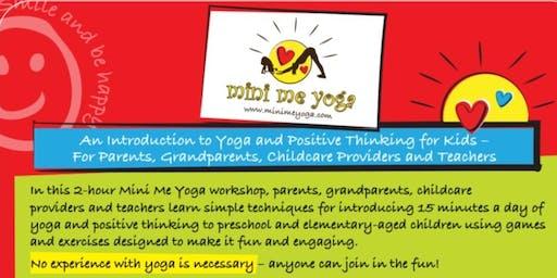 Mini Me Yoga - Foundation Workshop