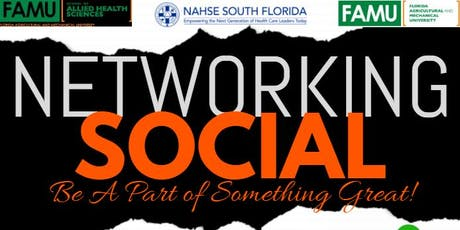 NAHSE Networking Social  tickets