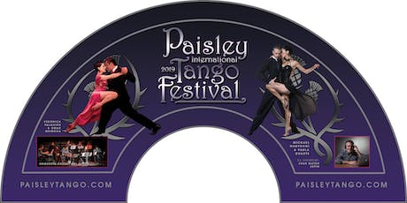 1 hr Taster Lesson and entry to the Paisley International Tango Festival. tickets