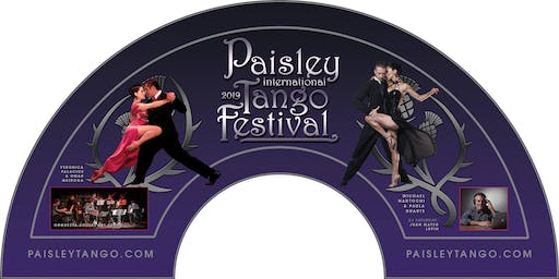1 hr Taster Lesson and entry to the Paisley International Tango Festival.