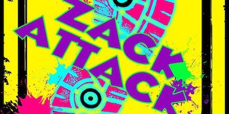 ZACK ATTACK HALLOWEEN BASH tickets