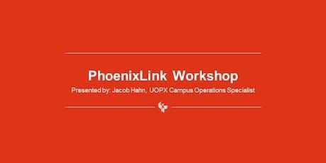 PhoenixLink Workshop tickets
