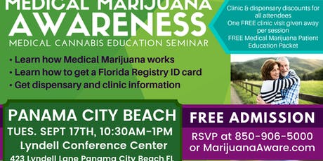 Panama City Beach - Medical Marijuana Awareness Seminar tickets