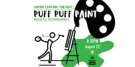"""Puff Puff Paint"" Cannabis Paint Night tickets"