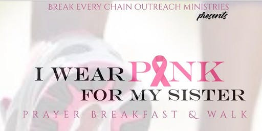 """""""I WEAR PINK FOR MY SISTER"""""""