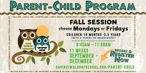 Parent-Child Classes - Fall Session